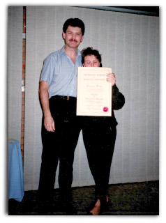 Getting my Massage Therapy Diploma at the Australian Academy of Remedial Therapies where I was invited to teach
